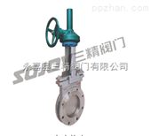 Z573X伞齿轮浆液阀,伞齿轮阀门