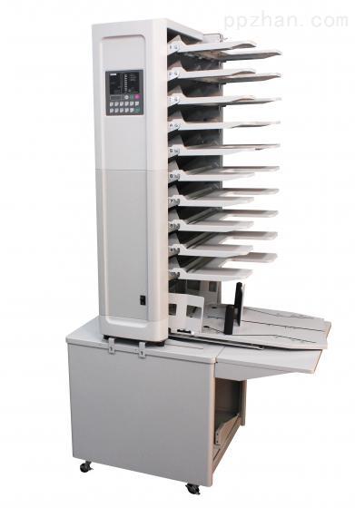 日本首霸日本原装进口配页机搓纸轮进纸十格配页机速度快省人工