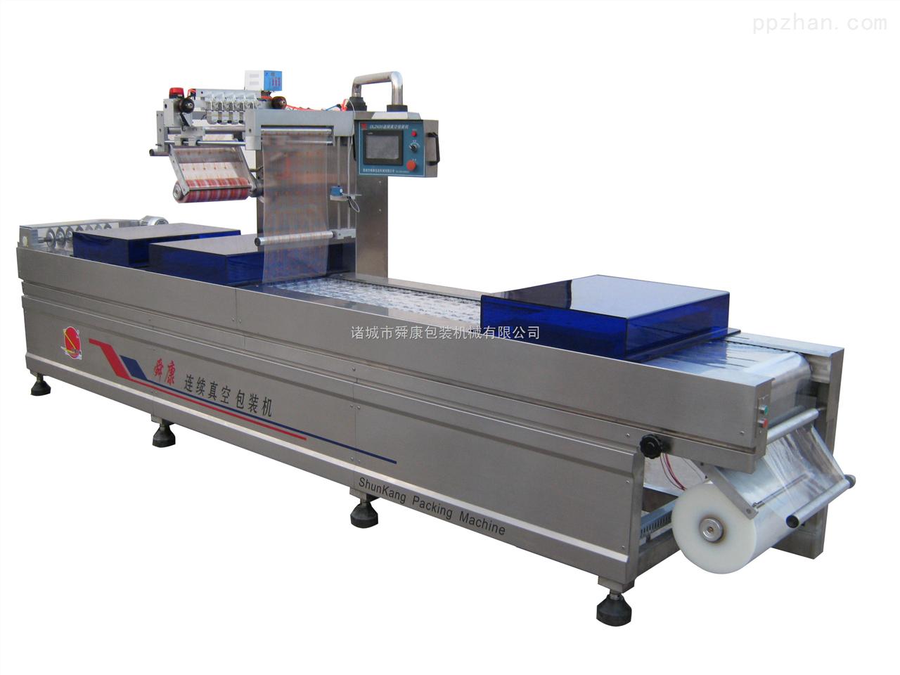 DLZ520C-拉伸膜姜片真空包装机