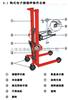 【亚津】上海手动油桶倾倒秤称量搬运两不误手动倒桶秤